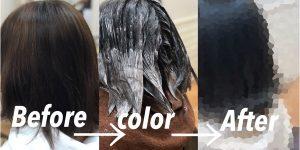 [卒業したら]カラーは黒染めからのアッシュ&カットは外ハネボブを!