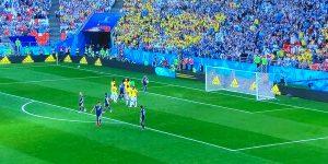 Twitterと共に観戦していたW杯日本vs.コロンビア!