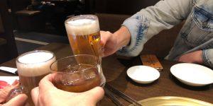 アルコールも摂れず、送迎に徹した今年初めての忘年会!